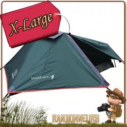 Tente Blackthorn 1 XL Highlander, une 1 place 3 trois saisons profilée pour tenue au vent, robuste compacte et légère
