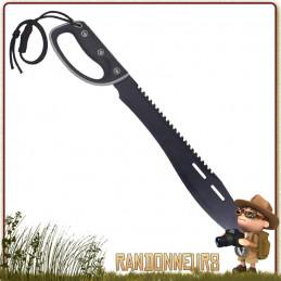 Machette D-Handle SawBack 60 cm pour le bushcraft et la survie jungle rothco france