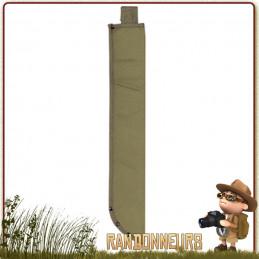 étui en coton canvas haute résistance, avec passant pour ceinture, permet de ranger une machette bushcraft de 45 cm