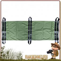 Brancard de sauvetage et transport des personnes pour les premiers soins avec 6 boucles renforcées militaire