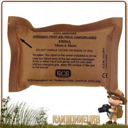 Bandage Compressif à usage militaire Small de premiere urgence secours soins BCB