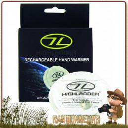 Chaufferettes Réutilisables Highlander de la chaleur plusieurs heures dans la poche en mains randonnée chasse