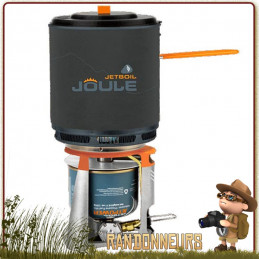 Réchaud JOULE JetBoil ultra léger 3 à 5 personnes casserole 2.5 Litres répartiteur de chaleur sur 3000 W de puissance