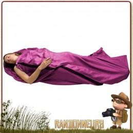Drap de soie avec polyester intégré pour un meilleur confort et extensibilité des tissus. Tissage ripstop de grande résistance