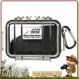Boite Etanche Pelican Micro Case 1010 Noire pour la protection de votre petit équipement de randonnée électronique