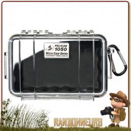 Boite Pelican Micro Case 1050 Noire étanche pour la protection waterproof de votre équipement fragile