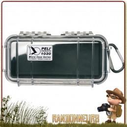 Boite Rigide Etanche Pelican Micro Case 1030 Noire de protection équipement scientifique et matériel trekking survie
