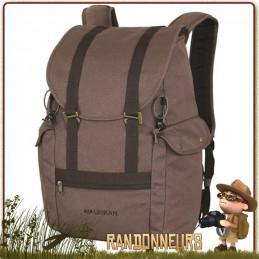 Sac à dos randonnée Bushcraft originel en toile canvas imperméable, le sac à dos TREK 25 Litres Urikan