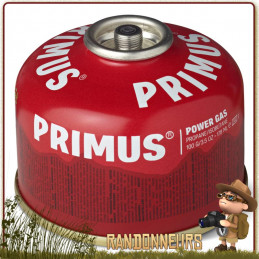 Cartouche PowerGaz 100g Primus pour réchaud randonnée ultra léger microntrail mimer primus