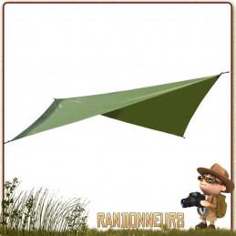 tarp abri pour Hamac Ticket To The Moon montage jungle bivouac bushcraft randonner léger avec tarp survie