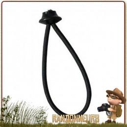 mini sandow tendeur avec boule cao pour montage tarp bâche bivouac léger en randonnée bushcraft survie nature