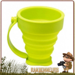 Tasse Silicone Pliable avec anse 20 cl CAO