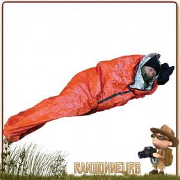 sursac bivy bag de survie SOL Survive Outdoors Longer se protéger du froid, sursac abri survie et bivi bag
