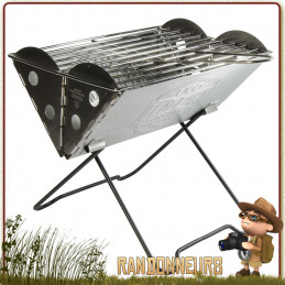 Grill Portable et Pliant FlatPack UCO, Grill ultra-compact pour le barbecue bushcraft et camping