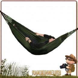 hamac militaire commando Highlander en toile parachute robuste pour bivouac survie bushcraft ou opex armée