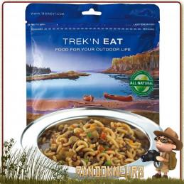 Civet de Gibier aux Pâtes Trek'n Eat lyophilisé de randonnée trekking ultra léger