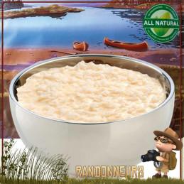 Sachet de dessert lyophilisé de randonnée Gâteau de Riz à la Vanille Trek'n Eat lyophilisé