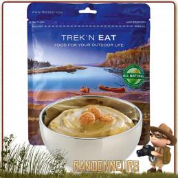 Sachet de dessert lyophilisé de randonnée Crème Caramel et Amaretto Trek'n Eat