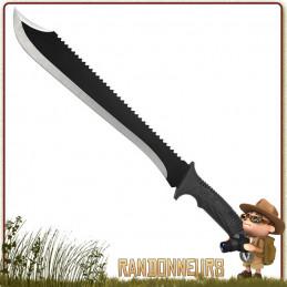 Machette full tang SCHRADE de 53 cm pour le bushcraft Lame acier inox 3Cr13 haute teneur en carbone de 38 cm