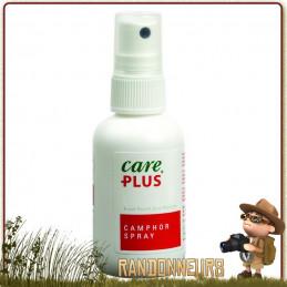 spray au camphre 60 ml Care Plus préventif avant les marche limiter le risque de formation des ampoules