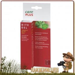 Gel apaisant après piqures et morsures d'insectes, ou de plantes type ortie. Tube de 20 ml de gel apaisant careplus