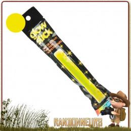 Bâton de Signalisation JAUNE Rothco Autonomie de 12 heures pour kit de survie randonnée