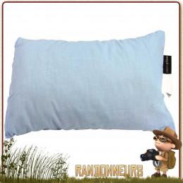 Micro coussin Highlander, compact et léger pour la randonnée légère, le camping et le voyage coton polyester compressible