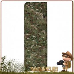 Matelas Auto Gonflant BASE L Multicam Highlander  camouflage militaire pour le meilleur bivouac bushcraft léger