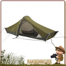 Tente Starlight 1 place ROBENS tente de randonnée bikepacking proposant un espace généreux et ouvertures mesh anti condensation