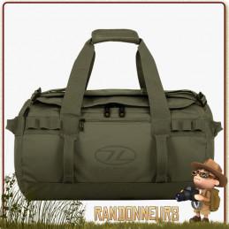 Sac transport militaire Duffle Bag Etanche Storm KitBag 30L Vert Highlander