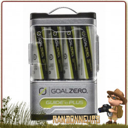 Batterie GUIDE 10 Plus GOAL ZERO stockage de l'énergie solaire 4x piles type AA de 2300 mAh batterie de 9200 mAh