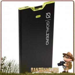 Batterie Portable Sherpa 40 GOAL ZERO  lithium 44.4 Watts de puissance et une capacité de 12000 mAh compacte légère