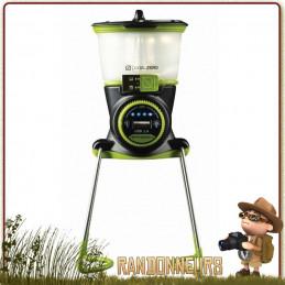 Lanterne LightHouse Mini GOAL ZERO  210 lumens et autonomie de 4 à 500 heures  sortie USB pour recharger votre téléphone