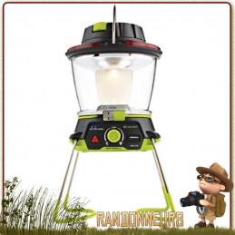 Lanterne LightHouse 400 GOAL ZERO recharge sur panneau solaire ou dynamo intégrée 400 lumens et autonomie de 48 heures