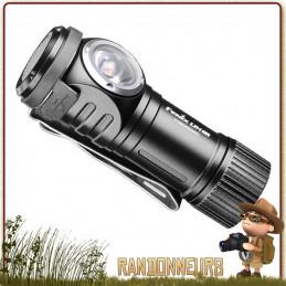 Lampe torche puissante porte clé, la FENIX LD15R donne 500 lumens sur près de 85 mètres, sur batterie 16340
