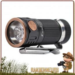 Fenix E16, lampe torche porte clé hautes performances fournit une puissance maximale de 700 lumens sur batterie