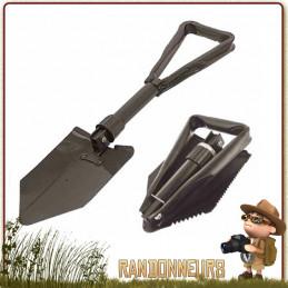 Pelle de Camp Compacte Pliante Highlander Un outil indispensable pour tout bivouac bushcraft, 4x4 et Camping