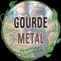 Gourde Métal