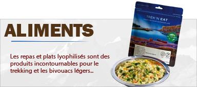 Sachets repas lyophilisés